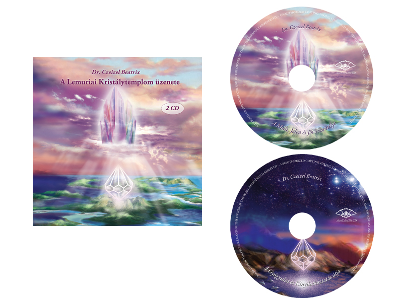 The message of the Lemurian Temple – double CD (HUNGARIAN language)