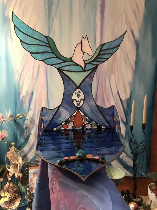 Pegasus returning home - Light Altar